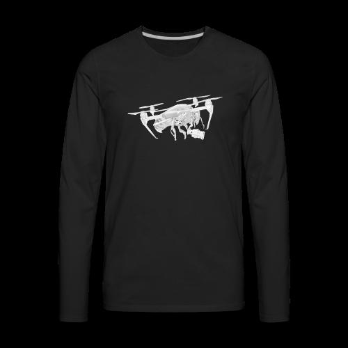 Drone Pilot's Drone - Men's Premium Long Sleeve T-Shirt
