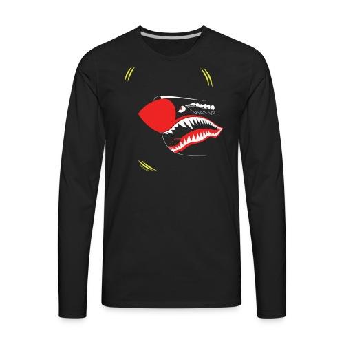 P40NOSE_1805_US - Men's Premium Long Sleeve T-Shirt