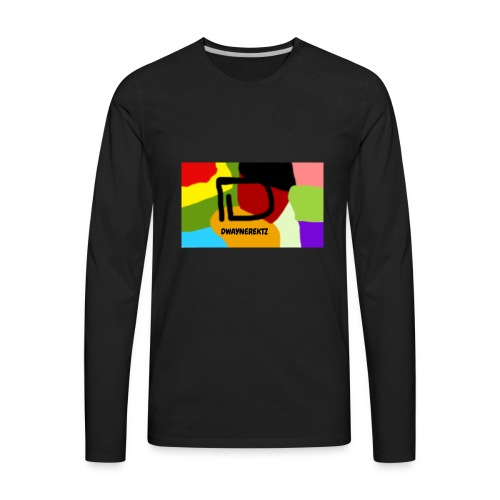 DwayneRektz Dye - Men's Premium Long Sleeve T-Shirt