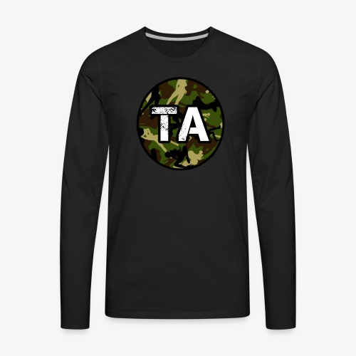 TA Camo - Men's Premium Long Sleeve T-Shirt