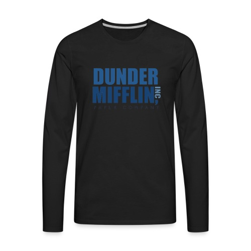 dunder mifflin - Men's Premium Long Sleeve T-Shirt