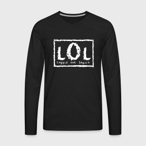 Laggin' Out Legion Print - Men's Premium Long Sleeve T-Shirt