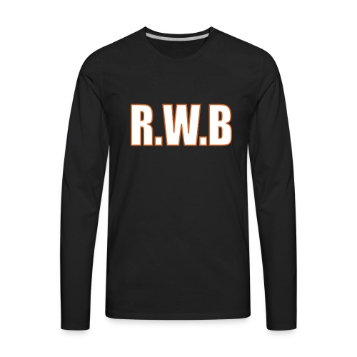 LOGOWORD2 - Men's Premium Long Sleeve T-Shirt