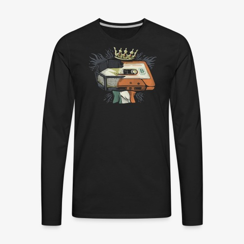 B Side - Conor McGregor Versus Floyd Mayweather - Men's Premium Long Sleeve T-Shirt