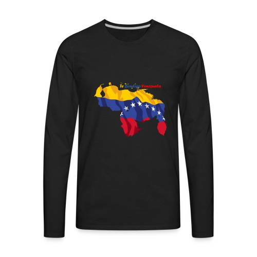 Venezuela Cool - Men's Premium Long Sleeve T-Shirt