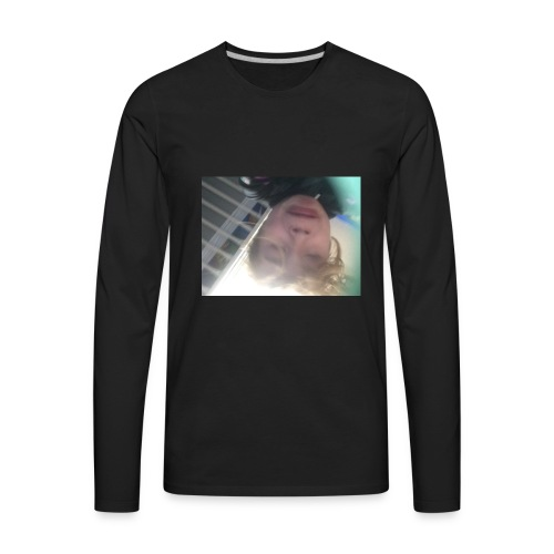 me sneezing - Men's Premium Long Sleeve T-Shirt