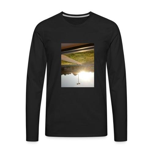 Brightly Sized - Men's Premium Long Sleeve T-Shirt