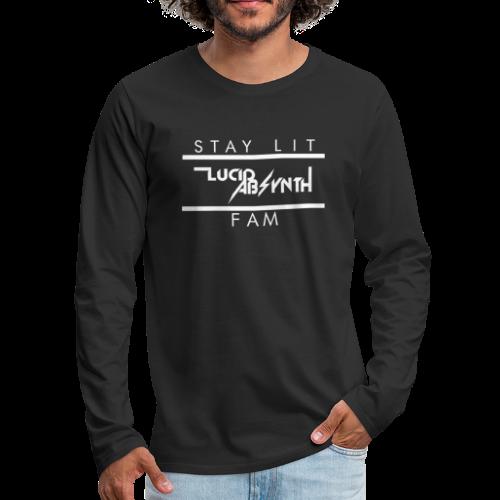 STAY LIT FAM - Men's Premium Long Sleeve T-Shirt