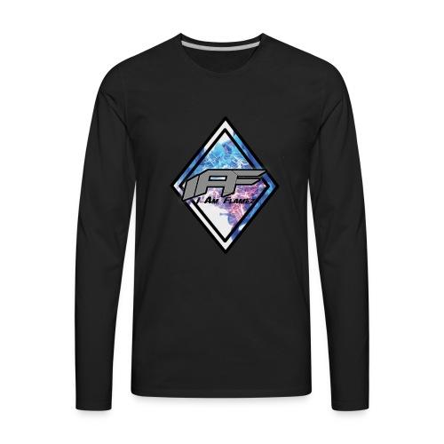 IAF Logo - Men's Premium Long Sleeve T-Shirt