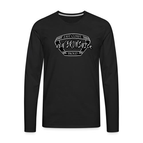 East Coast Proud Banner - Men's Premium Long Sleeve T-Shirt
