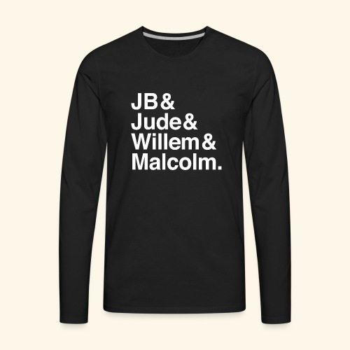 jude jb willem malcolm merch - Men's Premium Long Sleeve T-Shirt