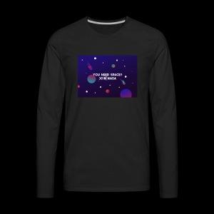 T SHIRT JOIN NASA - Men's Premium Long Sleeve T-Shirt