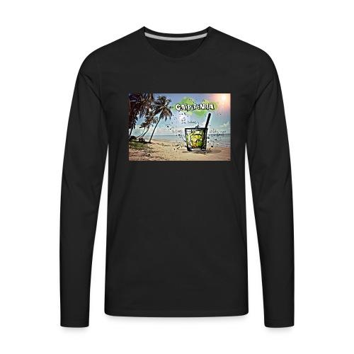 Drink Beach - Men's Premium Long Sleeve T-Shirt