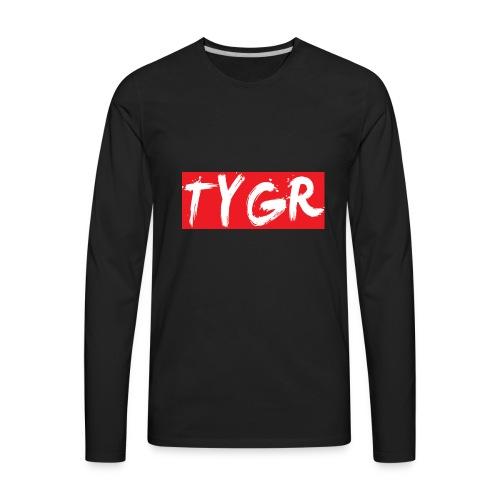 supreme tygr bxlogo - Men's Premium Long Sleeve T-Shirt