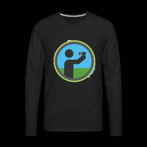 Vlogger - Men's Premium Long Sleeve T-Shirt
