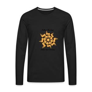 Follow The Sun - Men's Premium Long Sleeve T-Shirt