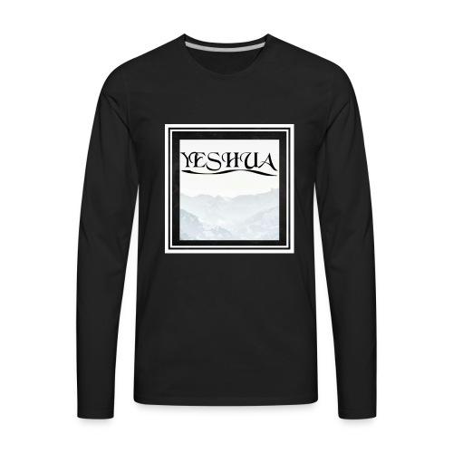 YESHUA - Men's Premium Long Sleeve T-Shirt