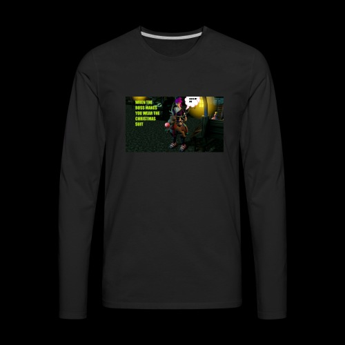 Christmas Boogaloo - Men's Premium Long Sleeve T-Shirt