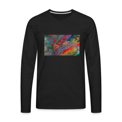 fluid thoughts - Men's Premium Long Sleeve T-Shirt