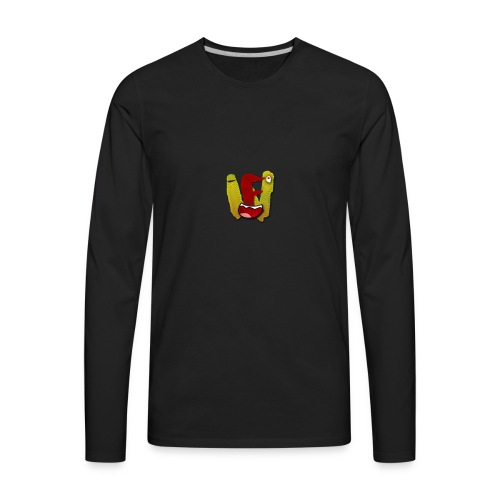 we logo - Men's Premium Long Sleeve T-Shirt