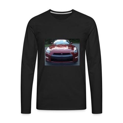 Red GTR - Men's Premium Long Sleeve T-Shirt