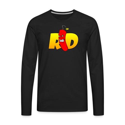Rated Dabz Color Design - Men's Premium Long Sleeve T-Shirt