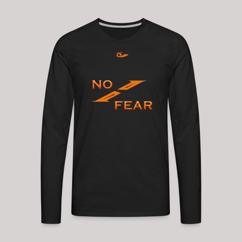 Clarity Avenue No Fear - Men's Premium Long Sleeve T-Shirt