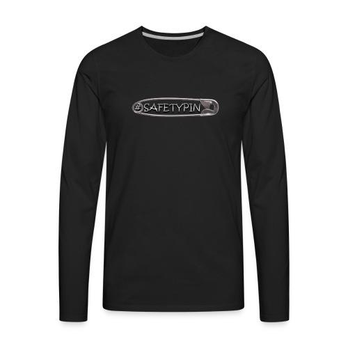 Safety Pin - Men's Premium Long Sleeve T-Shirt