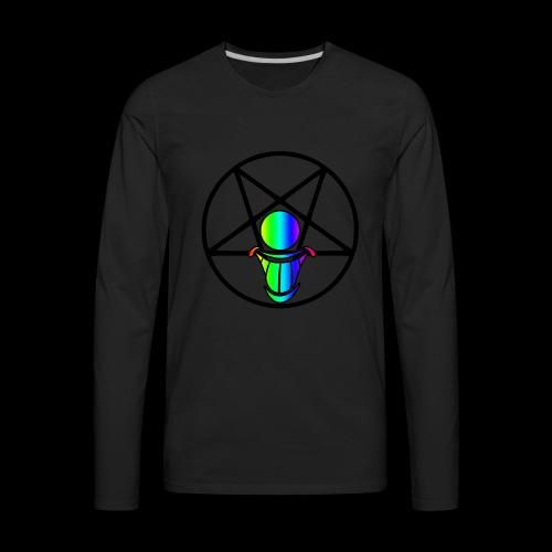 Pride Logo 3 - Men's Premium Long Sleeve T-Shirt