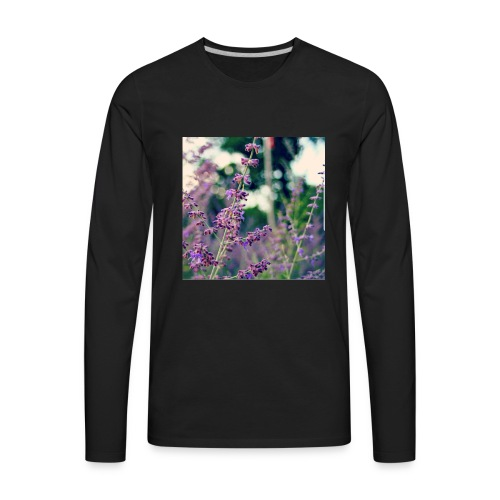 Does This Shirt Make Me Smell Like Lavender? - Men's Premium Long Sleeve T-Shirt