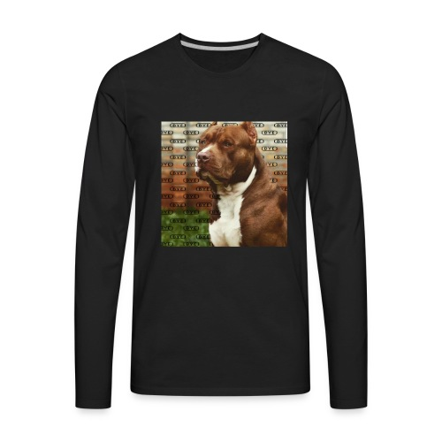 Pitbull- Faith Thread - Men's Premium Long Sleeve T-Shirt