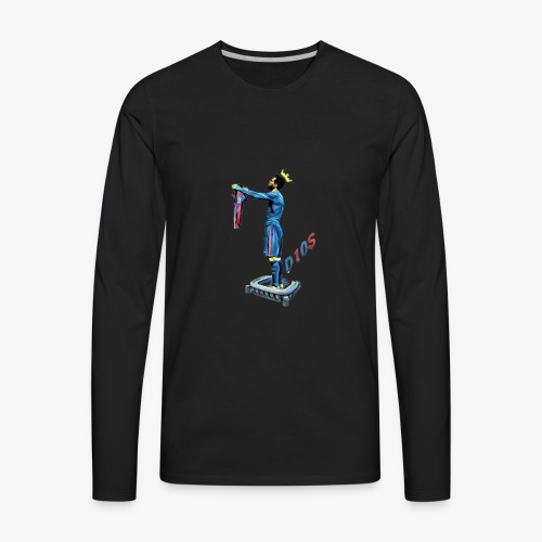 Love story 4 all G.O.A.T. fans out there! - Men's Premium Long Sleeve T-Shirt