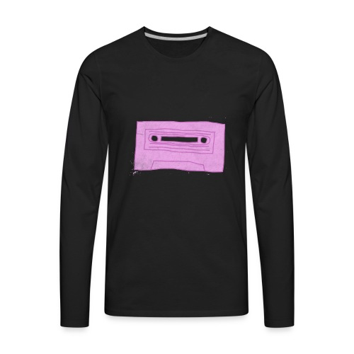 Cassette - Men's Premium Long Sleeve T-Shirt