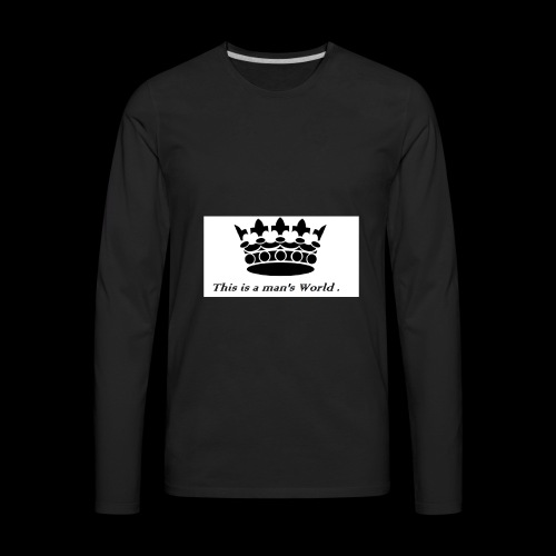 its a crowen - Men's Premium Long Sleeve T-Shirt
