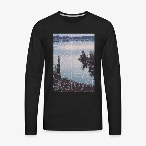 PBFB throwback - Men's Premium Long Sleeve T-Shirt