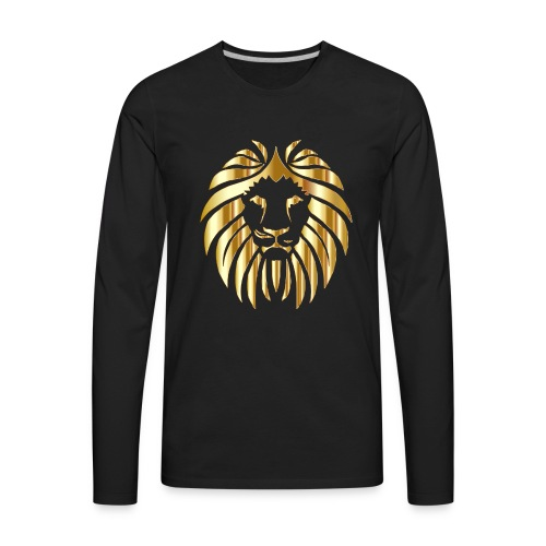 Royal Apex Lion (Limited Edition) - Men's Premium Long Sleeve T-Shirt