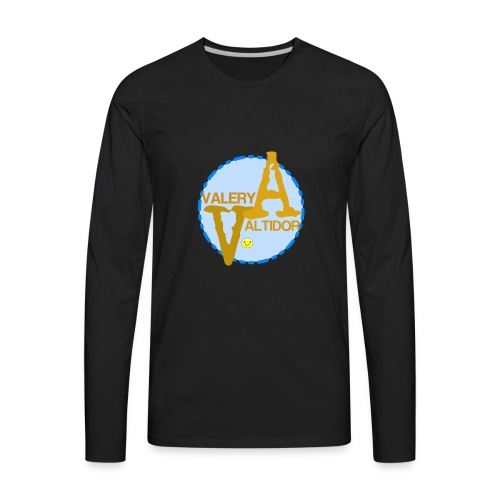 Valery logo - Men's Premium Long Sleeve T-Shirt