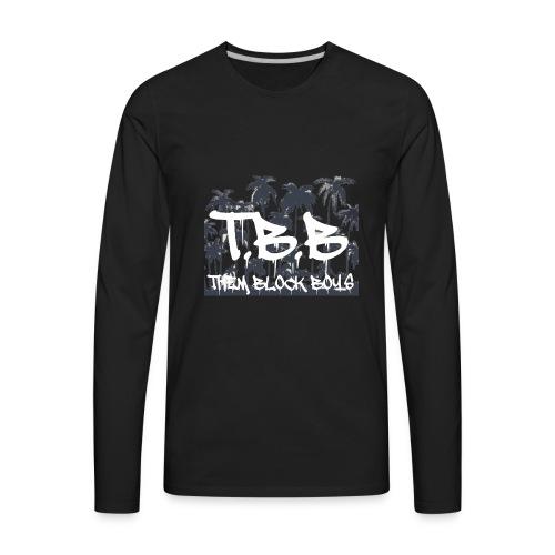 THEM BLOCK BOYS1 1 - Men's Premium Long Sleeve T-Shirt