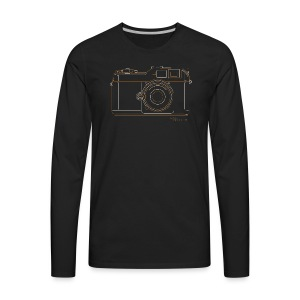 Camera Sketches - Epson RD1 - Men's Premium Long Sleeve T-Shirt
