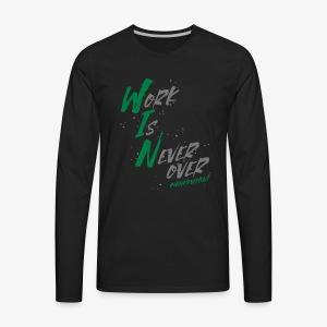 WIN Wear - Men's Premium Long Sleeve T-Shirt