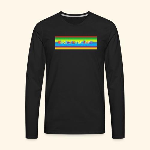 Exclusive Ballers - Men's Premium Long Sleeve T-Shirt