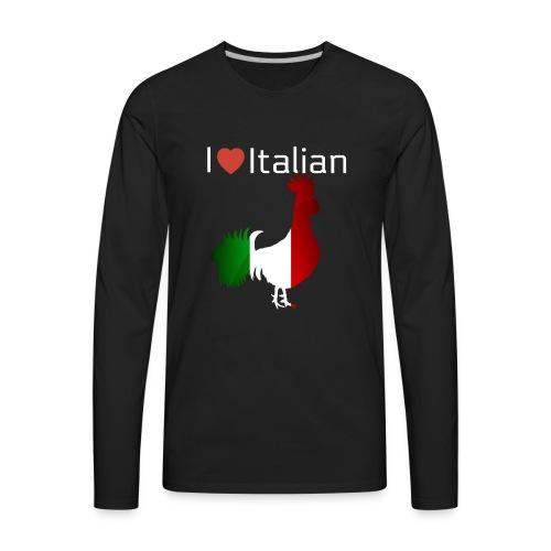 Italian Rooster - Men's Premium Long Sleeve T-Shirt