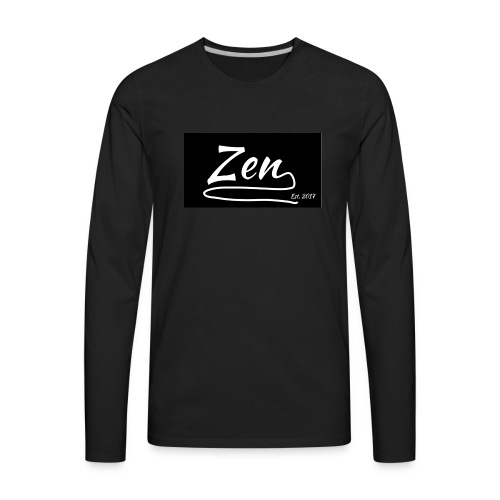 Zen Apparel - Men's Premium Long Sleeve T-Shirt