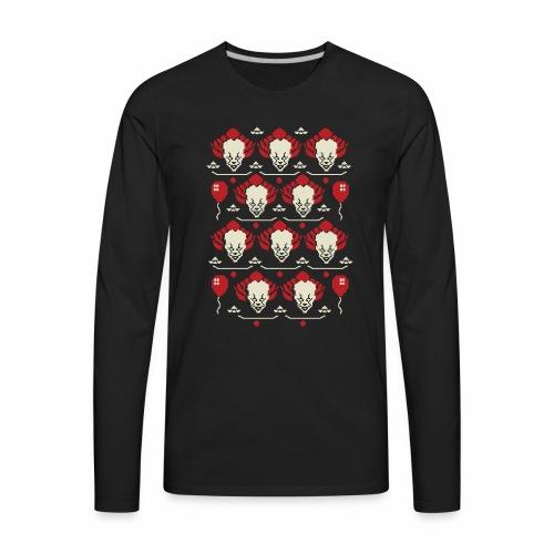 Ugly Clown Sweater - Men's Premium Long Sleeve T-Shirt