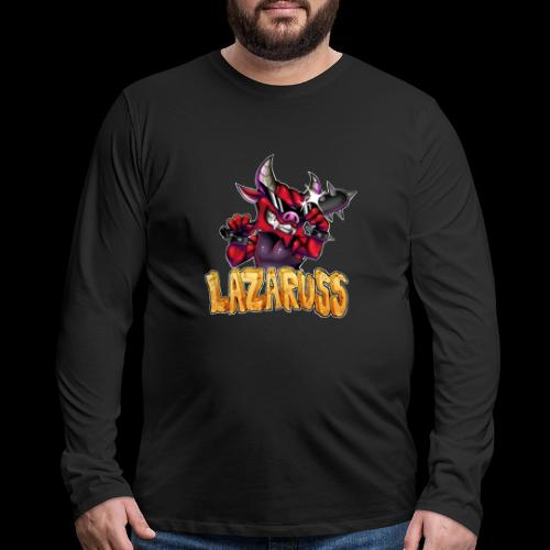 Lazaruss Logo - Men's Premium Long Sleeve T-Shirt