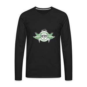 Rock City Roller Derby - Men's Premium Long Sleeve T-Shirt