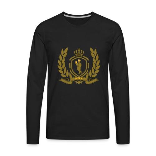 Conscious King (Crest) - Men's Premium Long Sleeve T-Shirt