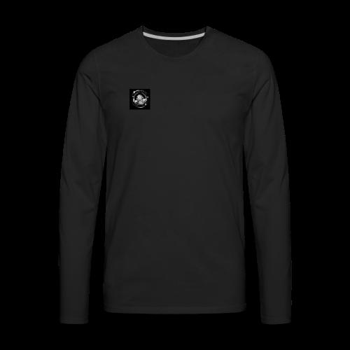 Space Donut - Men's Premium Long Sleeve T-Shirt