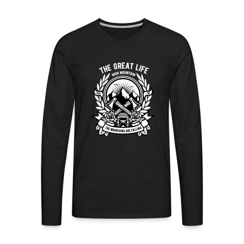 The Great Life - Men's Premium Long Sleeve T-Shirt