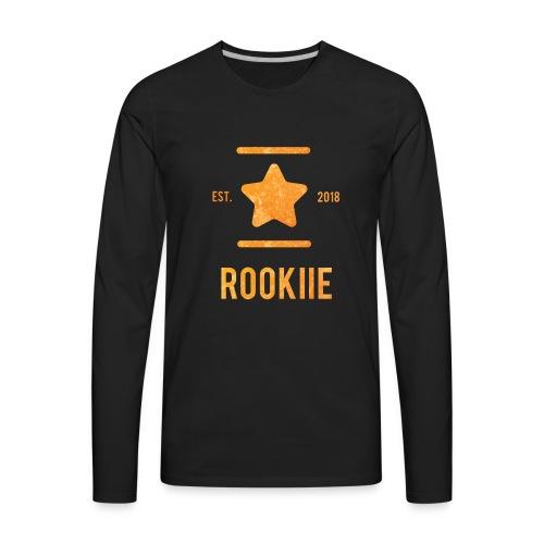ROOKIIE GOLD - Men's Premium Long Sleeve T-Shirt